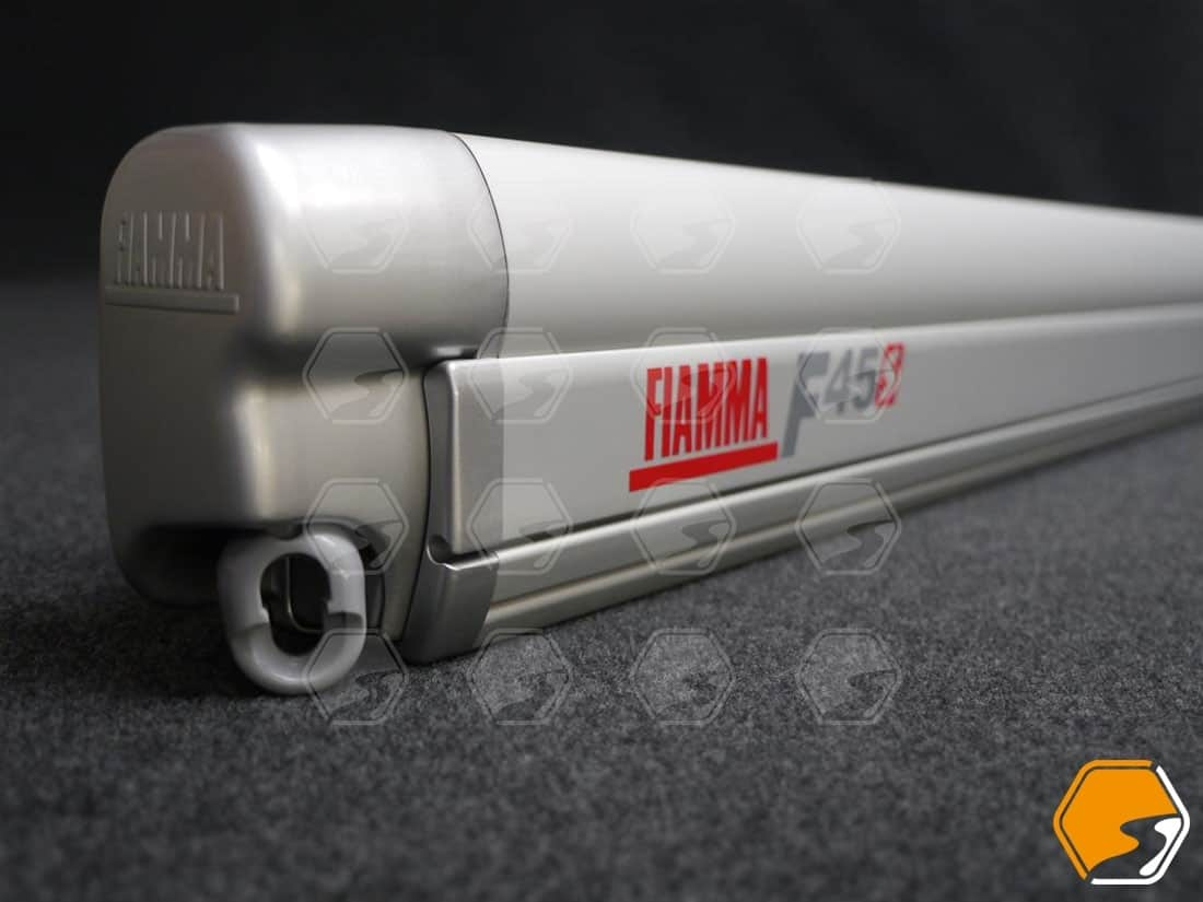 Fiamma F45s Wind-out Canopy Awning for Campervan VW Transporter T5 T6 Silver