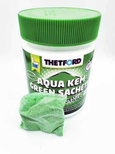 Aqua Kem Green Sachets Chemical Toilet Sachets