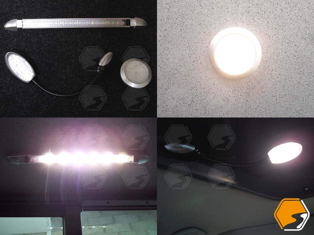 LED Light Custom Flexible Bespoke VW-Volkswagen-T5-T6-T6.1 Campervan-camper van vanscape vanlife parts accessories transporter style conversion restoration energy efficient travel staycation fitting light emitting diode dimmable flexi 12v - 240v