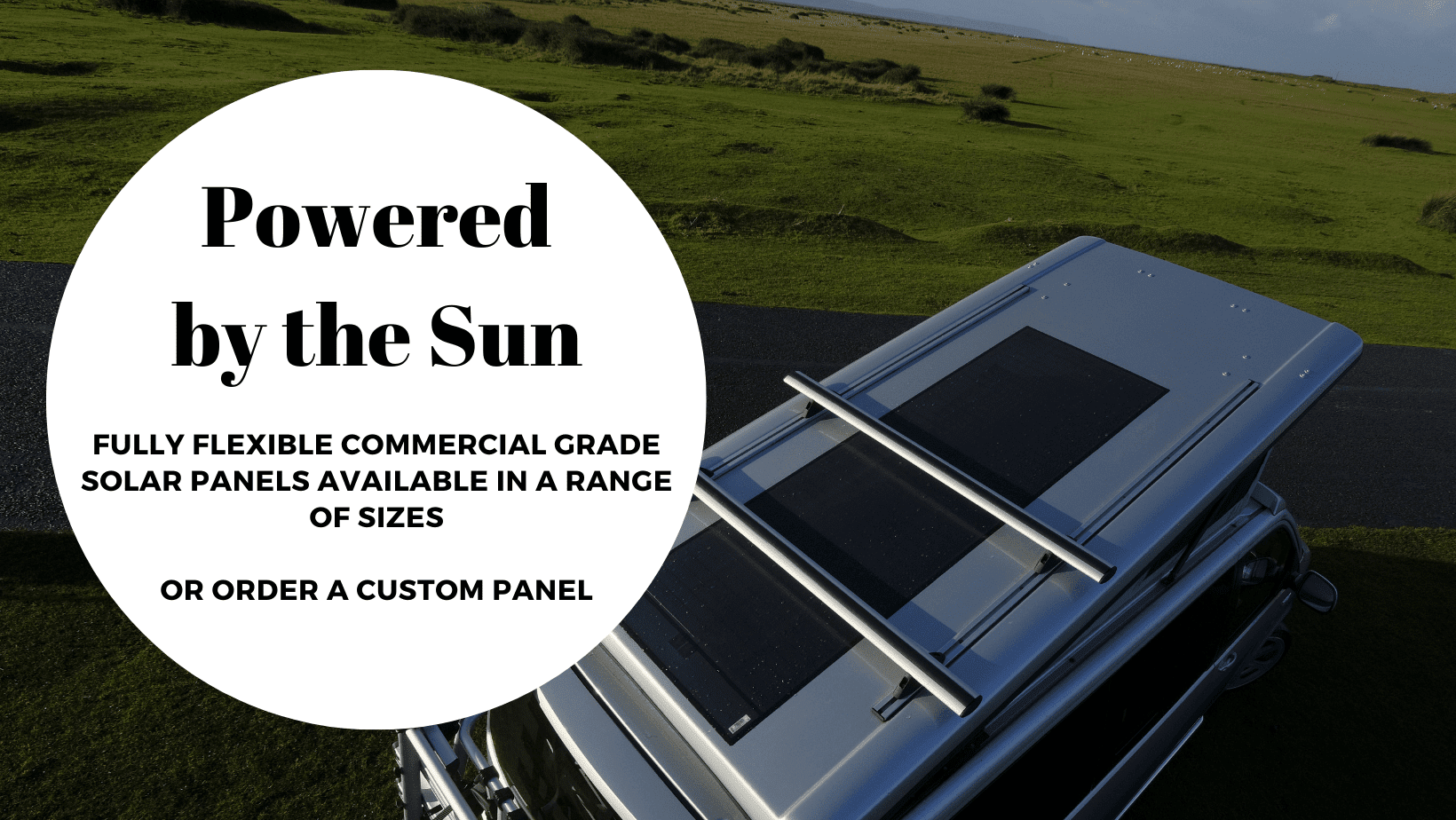 Fully Flexible SuperFlex Photovoltaic Commercial Grade Solar Panel and Victron Solar Charge Controller for Campervans and Motorhomes