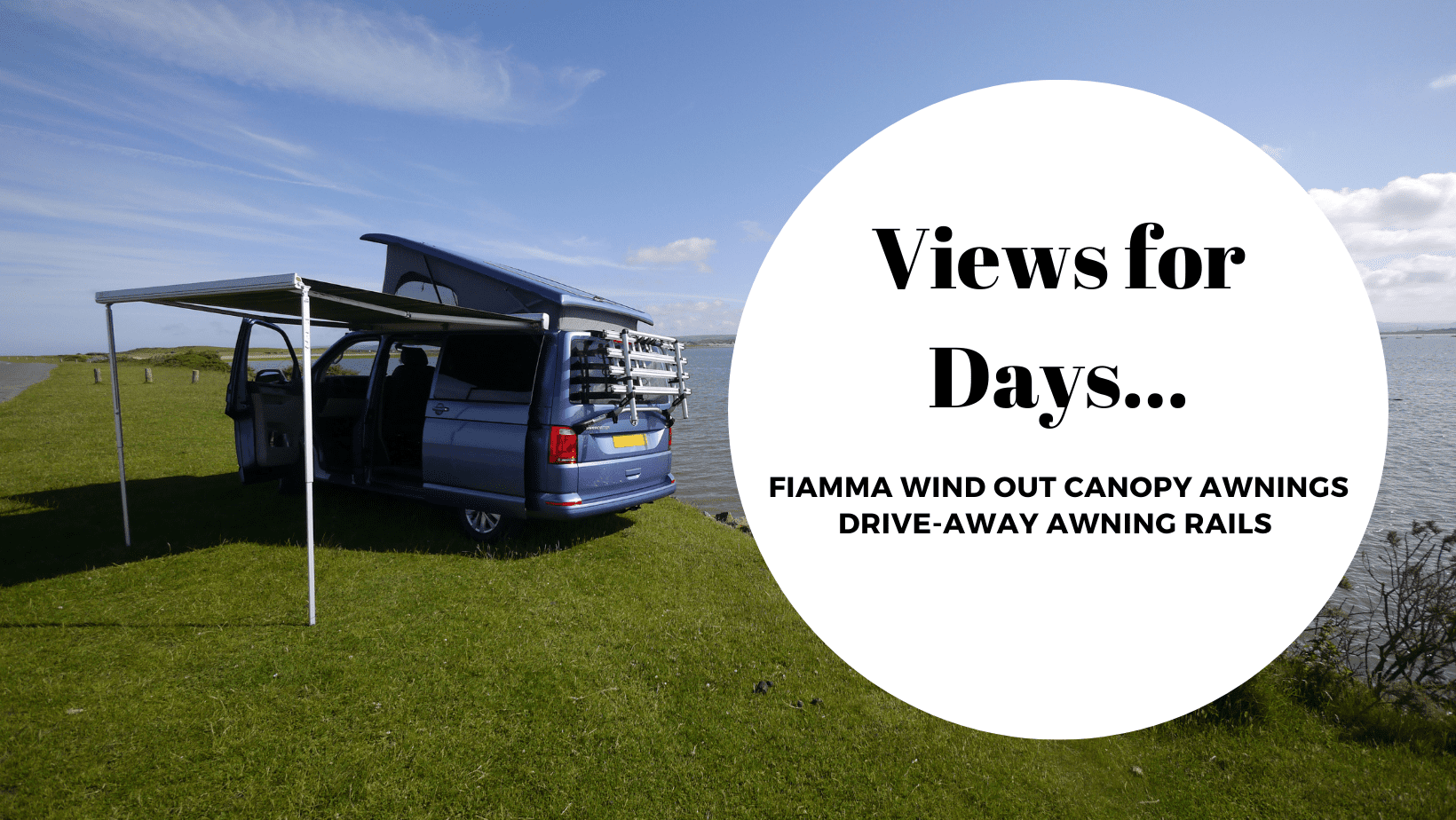 VW Transporter Campervan Fiamma F45s Canopy Awnings and Drive Away Awning Rails